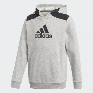 Худи для фитнеса Logo Performance adidas. Цвет: черный