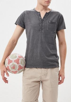 Футболка Deeluxe. Цвет: серый