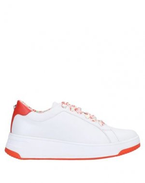 Низкие кеды и кроссовки APEPAZZA. Цвет: белый