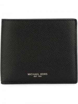 Классический бумажник Michael Kors. Цвет: черный