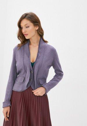 Жакет MadaM T. Цвет: фиолетовый