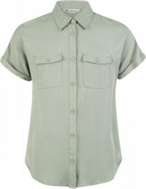 Рубашка с коротким рукавом для девочек , размер 140 Outventure. Цвет: зеленый
