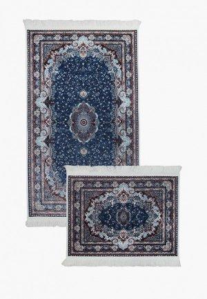Комплект ковриков Arloni. Цвет: синий