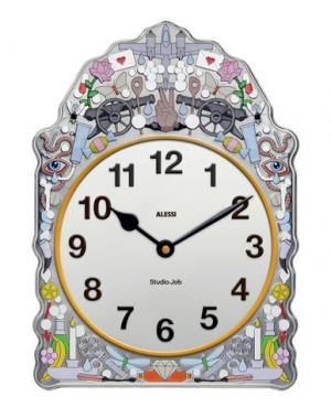 Настенные часы ALESSI. Цвет: серый