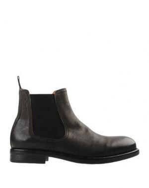 Полусапоги и высокие ботинки AMBITIOUS. Цвет: стальной серый