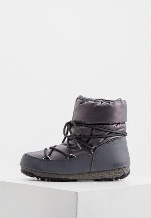Дутики Moon Boot. Цвет: серый