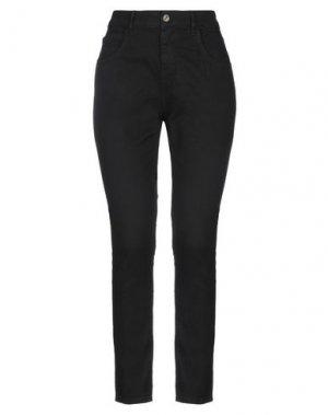 Джинсовые брюки-капри MANILA GRACE DENIM. Цвет: черный