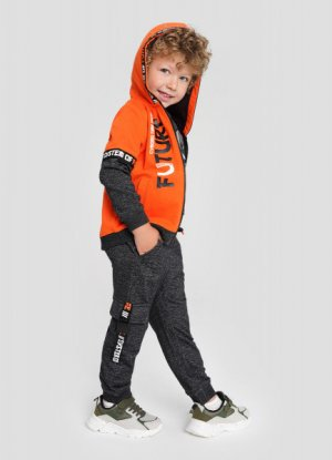 Толстовка для мальчиков O`Stin. Цвет: оранжевый