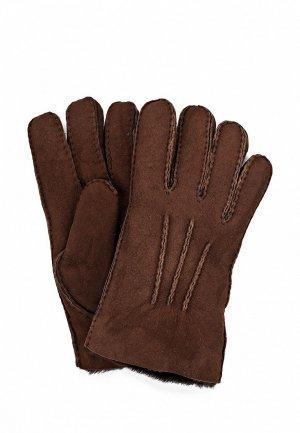 Перчатки UGG Australia UG174DMDAV14. Цвет: коричневый