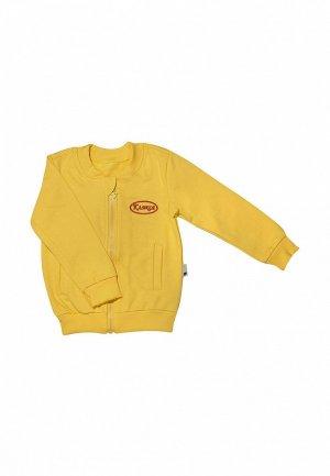 Олимпийка Клякса. Цвет: желтый
