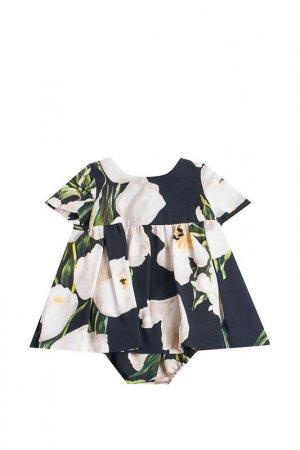 Платье DOLCE & GABBANA. Цвет: черный/белый
