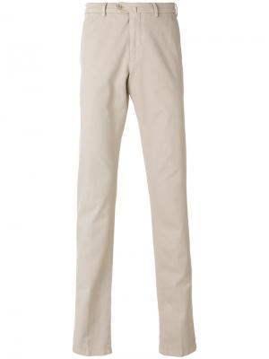 Классические брюки-чинос Loro Piana. Цвет: бежевый