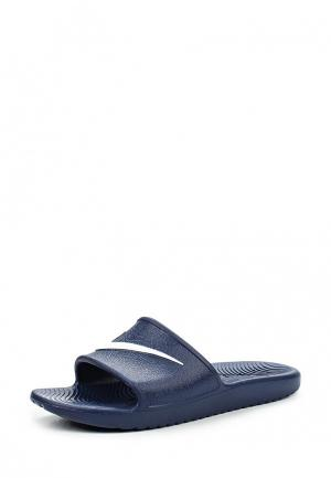 Сланцы Nike Mens Kawa Shower Slide. Цвет: синий