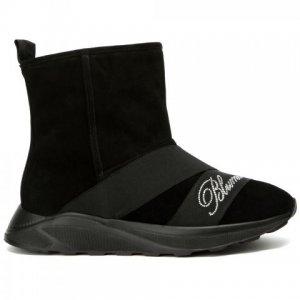 Ботинки Blumarine. Цвет: чёрный