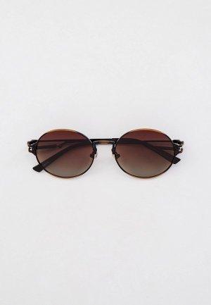 Очки солнцезащитные Havvs HV68025. Цвет: коричневый
