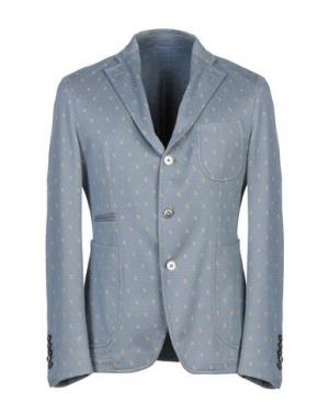 Пиджак JOHN SHEEP. Цвет: небесно-голубой