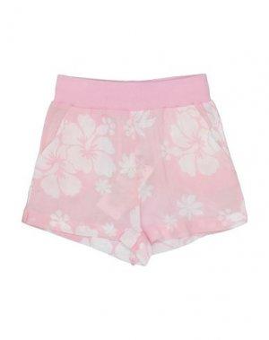 Повседневные шорты MONNALISA. Цвет: розовый