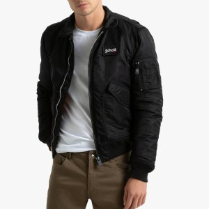 Куртка-бомбер La Redoute. Цвет: черный