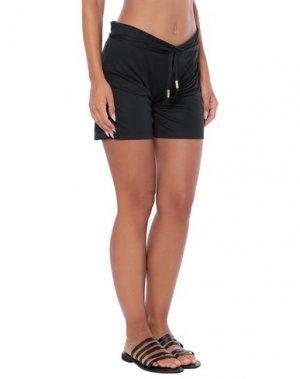 Пляжные брюки и шорты DOLCE & GABBANA BEACHWEAR. Цвет: черный