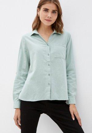 Рубашка DeFacto. Цвет: зеленый