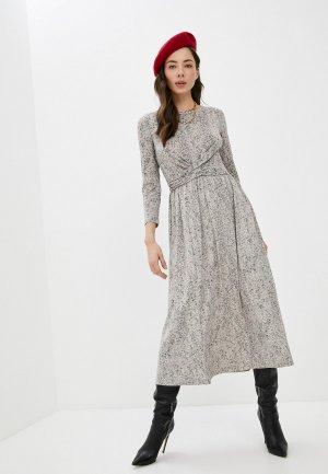 Платье InWear. Цвет: бежевый
