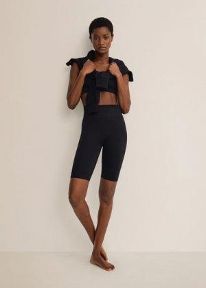 Спортивные шорты - Claudi Mango. Цвет: черный