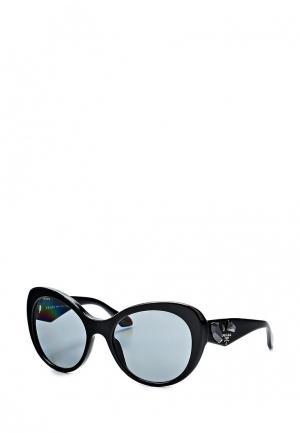 Очки солнцезащитные Prada 0PR 26QS 1AB3C2. Цвет: черный