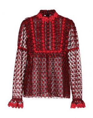 Блузка ANNA SUI. Цвет: красный