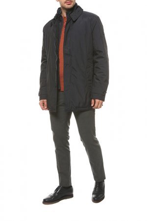 Куртка Hetrego. Цвет: синий