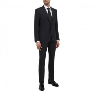 Шерстяной костюм Corneliani. Цвет: серый