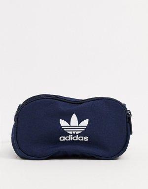 Темно-синяя сумка-кошелек на пояс с логотипом -Темно-синий adidas Originals
