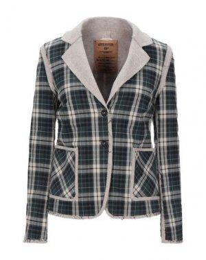 Пиджак NOVEMB3R. Цвет: темно-зеленый