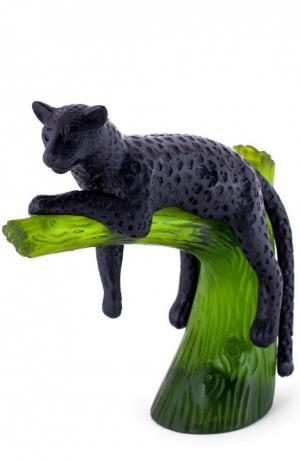 Статуэтка Пантера на дереве Daum. Цвет: разноцветный