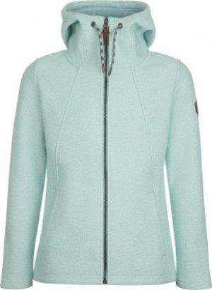 Джемпер флисовый для девочек , размер 158 Merrell. Цвет: голубой