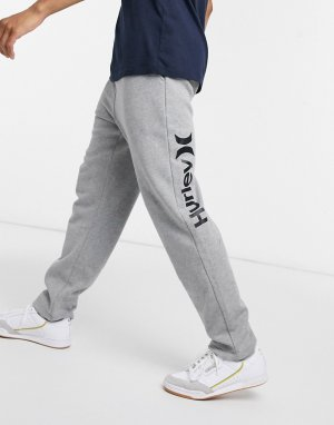Серые флисовые джоггеры OAO-Серый Hurley