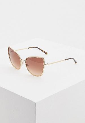 Очки солнцезащитные Dolce&Gabbana DG2212 02/13. Цвет: золотой