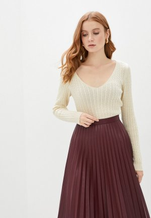 Пуловер Happychoice. Цвет: бежевый