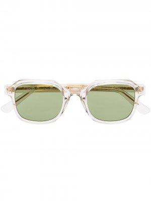 Солнцезащитные очки Saint Dominique в квадратной оправе Ahlem. Цвет: нейтральные цвета