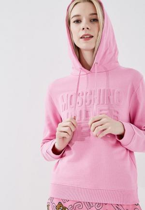 Худи Moschino Underwear Woman. Цвет: розовый
