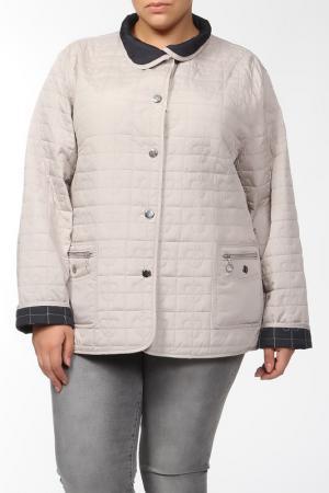 Куртка двухсторонняя GODSKE. Цвет: бежевый, синий
