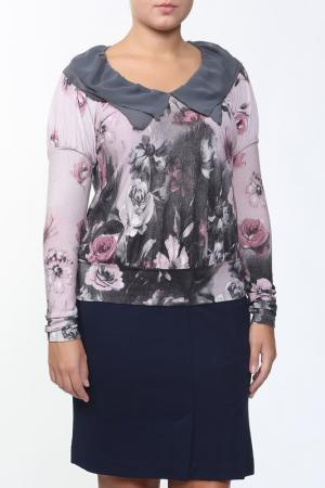 Блуза Lissa. Цвет: розовый