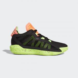 Баскетбольные кроссовки Dame 6 Performance adidas. Цвет: зеленый