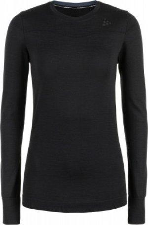 Термобелье верх женское Fuseknit Comfort, размер 46-48 Craft. Цвет: черный