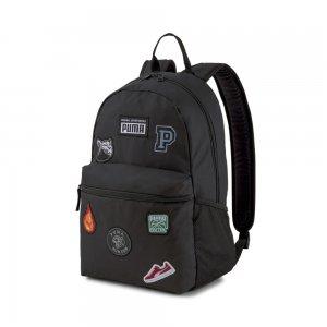 Рюкзак Patch Backpack PUMA. Цвет: черный