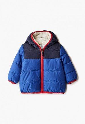 Куртка утепленная Gap. Цвет: разноцветный