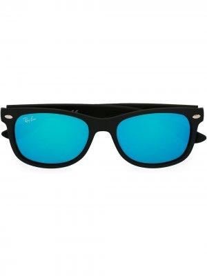Солнцезащитные очки-wayfarer RAY-BAN JUNIOR. Цвет: черный