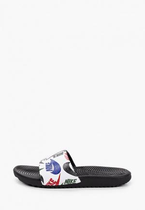 Сланцы Nike KAWA SLIDE SE JDI (GS/PS). Цвет: белый