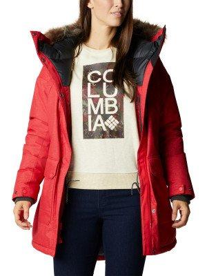 Пуховик женский Mount Si™, размер 48 Columbia. Цвет: красный