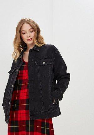 Куртка джинсовая Cheap Monday. Цвет: черный