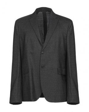Пиджак ACNE STUDIOS. Цвет: стальной серый